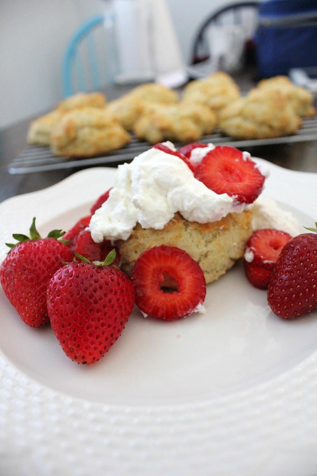 Recipe for Strawberry Shortcake by freshfromthe.com