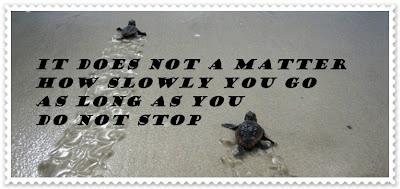 Jangan berputus asa walaupun gagal