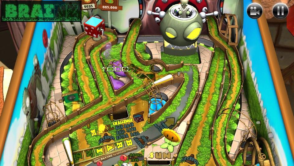Review zen pinball 2 plants vs zombies