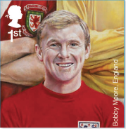 Bobby Moore stamp.
