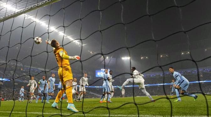 Manchester City dipermalukan CSKA Moscow 1-2 di Kandang