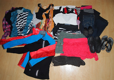 All Clothing for RTW Packing List