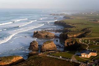 Playa Fontela Balea en Barreiros Lugo