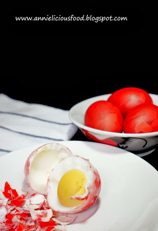 Annielicious Food: Chinese Red Eggs (红鸡蛋)