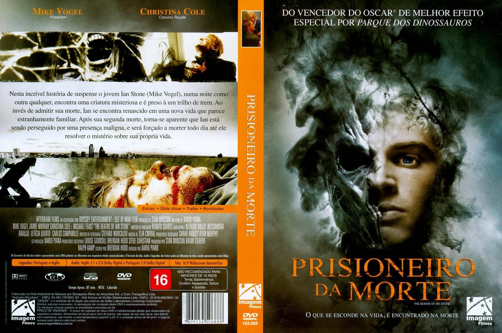 Prisioneiro da Morte DVD Capa
