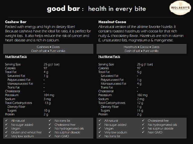 good bars all natural