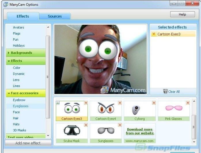 Se volete divertirvi e sbizzarrirvi con un software per usare le chat online ecco Many Cams