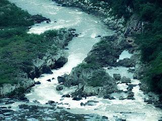 Cachoeirão do Rio das Antas visto do Belvedere Sonda, em Nova Pádua.