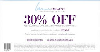 lane bryant printable coupons