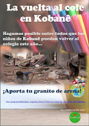 "Campaña ""Vuelta al cole en KobanÊ"""