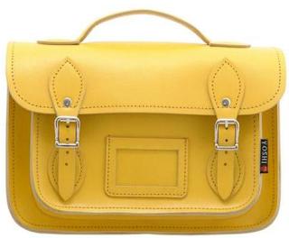 Yoshi satchel bag mustard