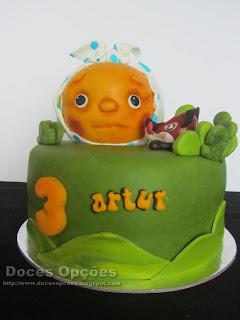 birthday cake kolobok Bragança Portugal