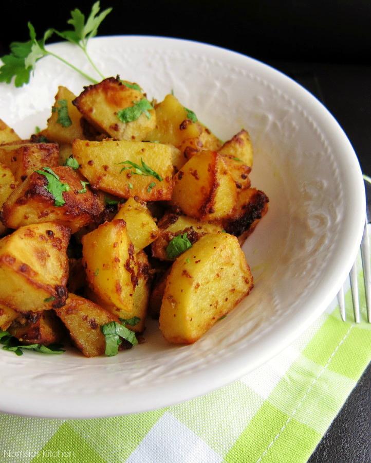 Mustard Roast Potatoes Recipe