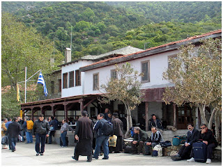 Sveta gora - Atos. Dafni 2