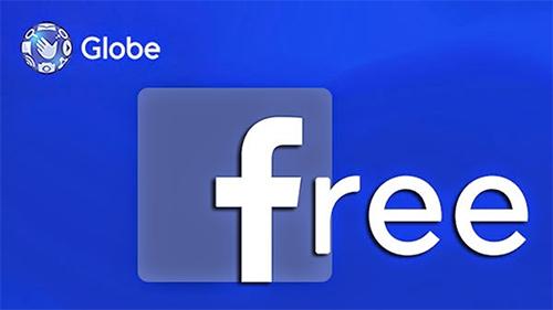 globe free facebook, free fb, promo