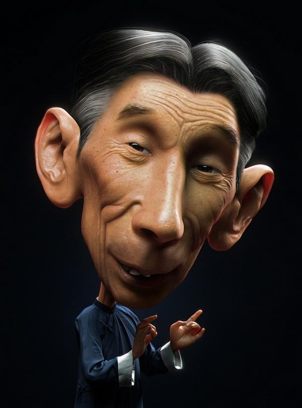 Jian Xu un diseñador en 3D realista y espectacular