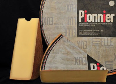 Pionnier cheese wheel