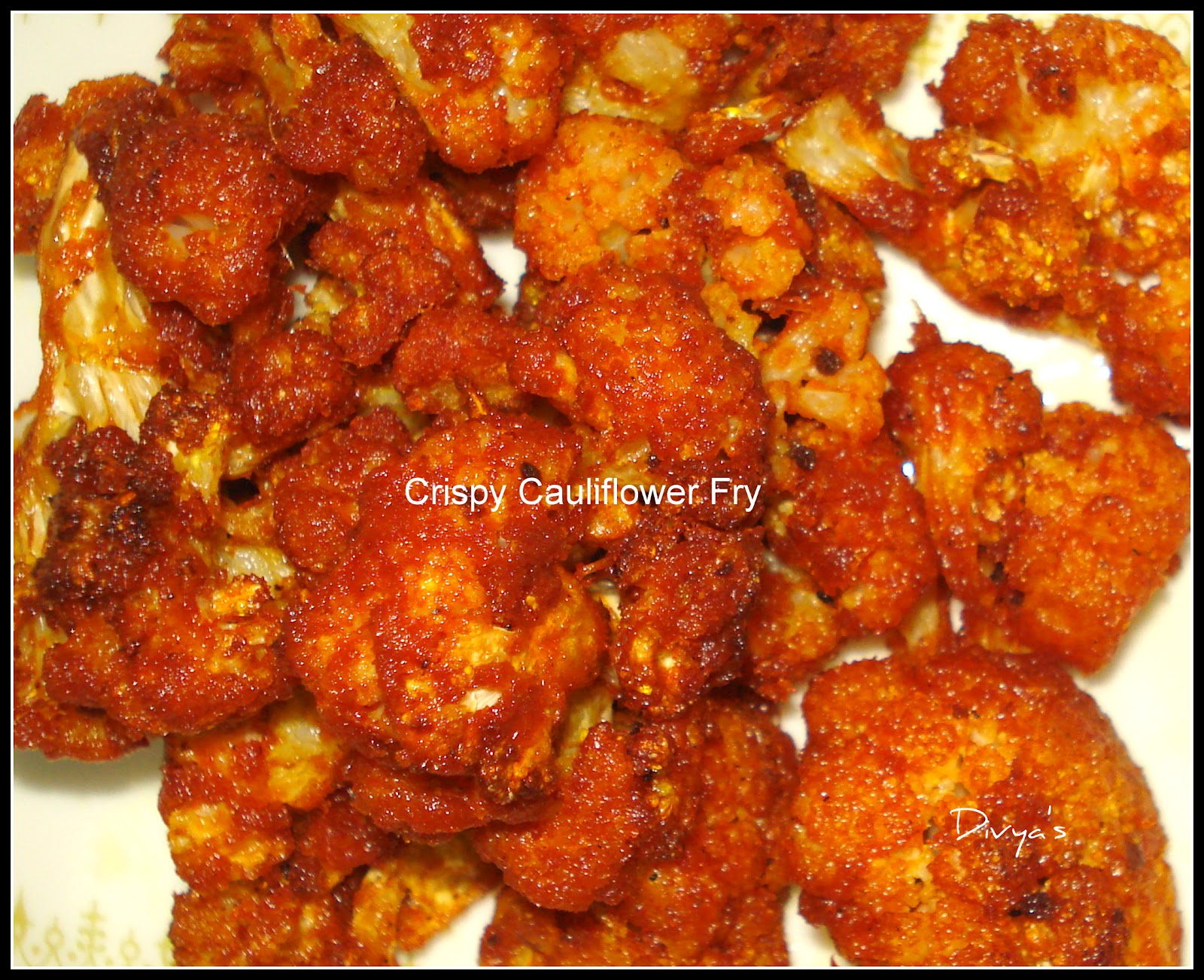 Crunchy Cauliflower Fry / Gobi Fry | You Too Can Cook - Indian Food ...