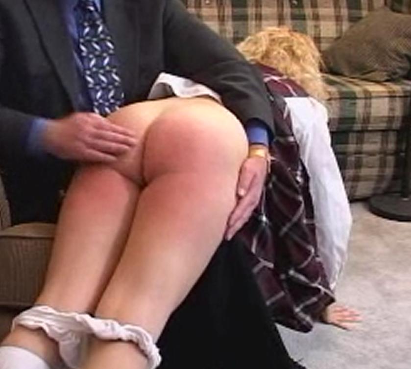 Need down pants spank