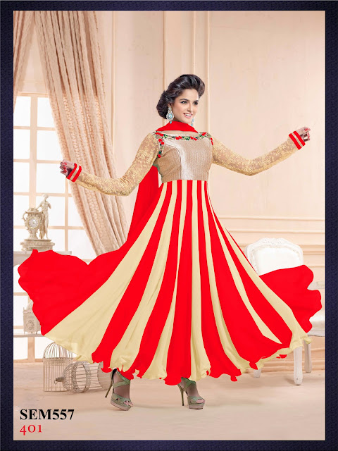 Buy Online Beautiful Designer Anarkali Suits