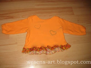 baby sweater orange   wesens-art.blogspot.com