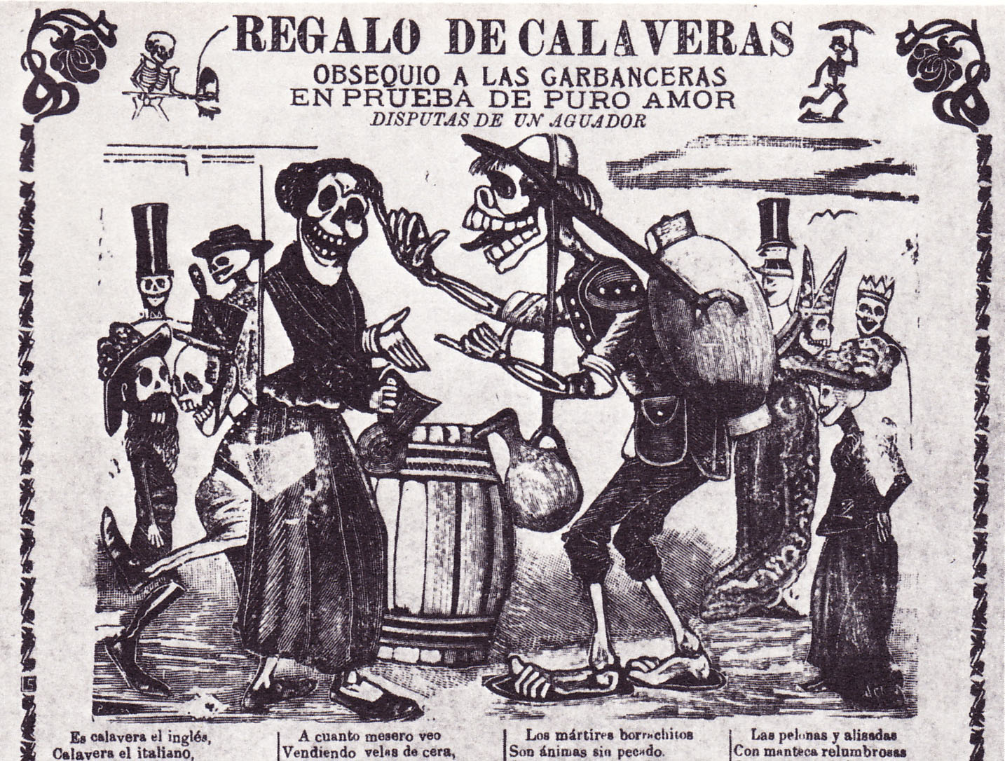Morbid Anatomy Santa Muerte Posada S Mexico And The End Of Times