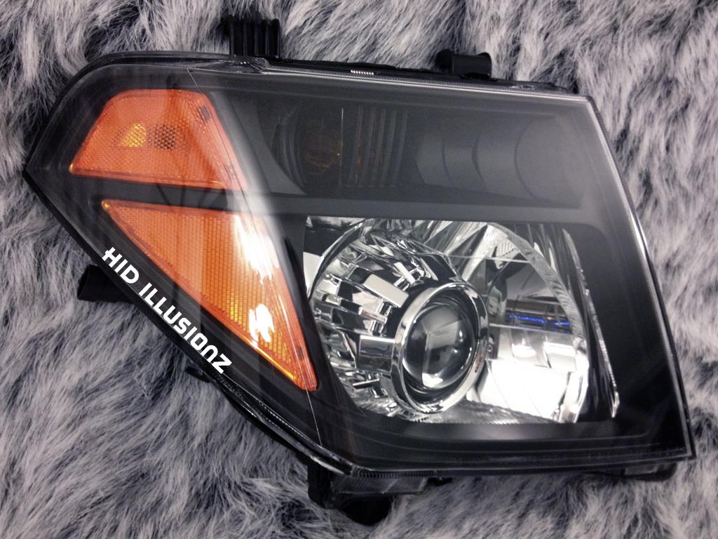 Hid Illusionz Nissan Frontier Morimoto Mini H1 Gatling