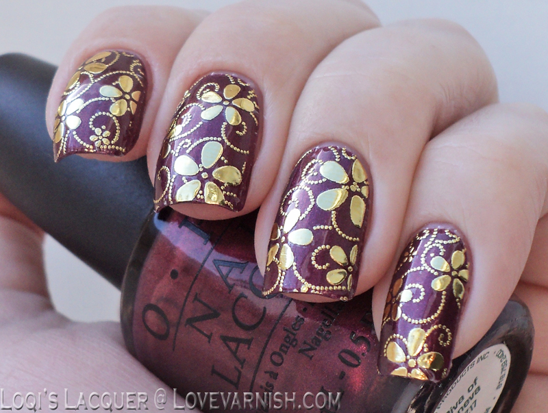 Love Varnish: Nail Art & Review // Ladyqueen Full Nail stickers