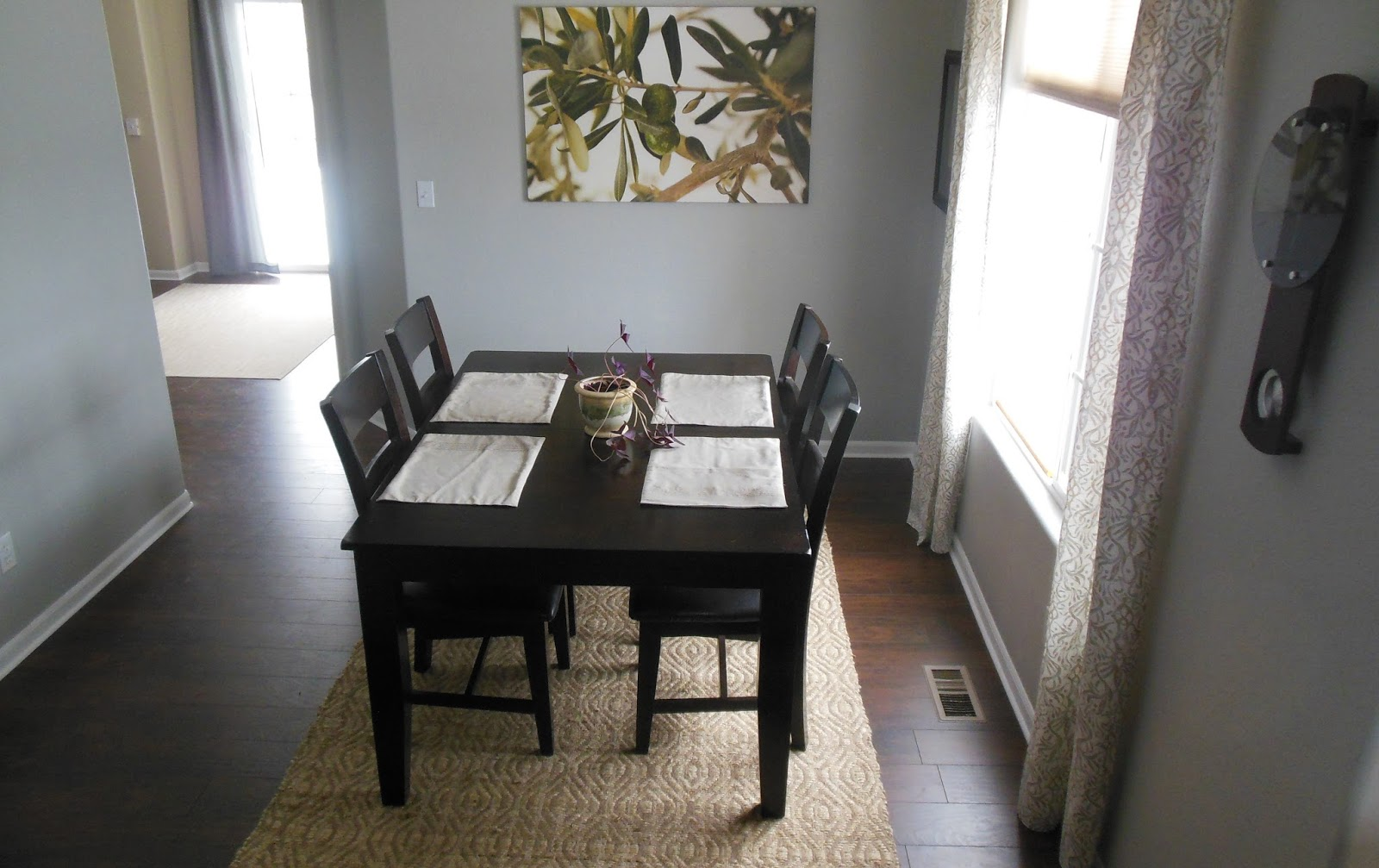 ... From One Half Of The House To The Other, We Opted To Get This 5x7 Rug  To Define The Space Of The Dining Room, And It Hasnu0027t Been An Issue At All.