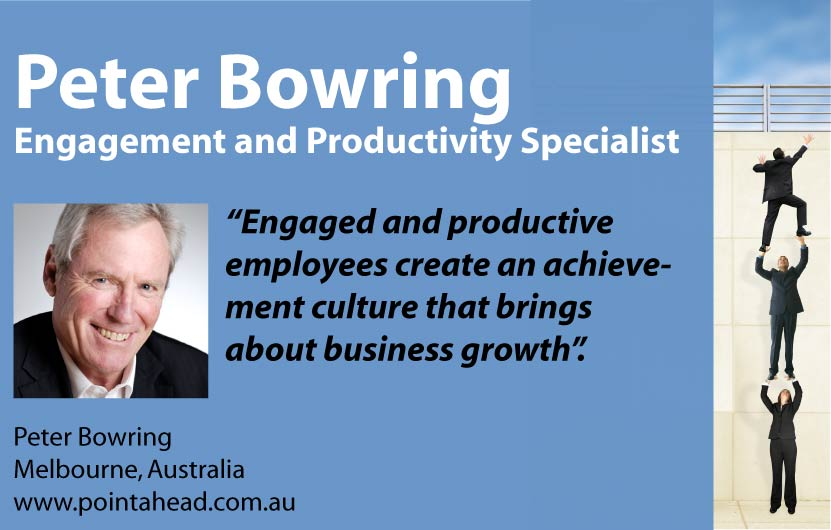 Peter Bowring - Engagement and Productivity Specialist
