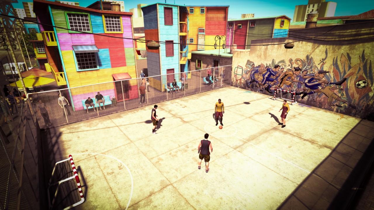 حصريا اللعبة الأسطورية Fifa street