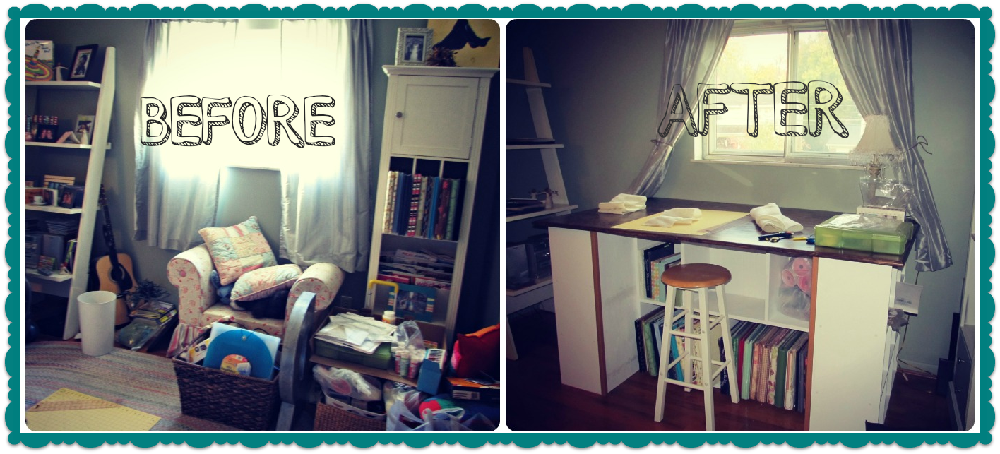 Craft Room Ideas I 39 M Going To Go Sit At My Craft Table Now Just
