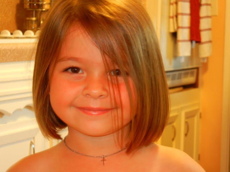 8 Year Old Girls Short Hairstyles