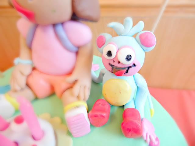 Experimentando en la cocina y algunas cosas mas tarta dos pisos dora la exploradora y sus amigos - Dora la exploradora cocina ...