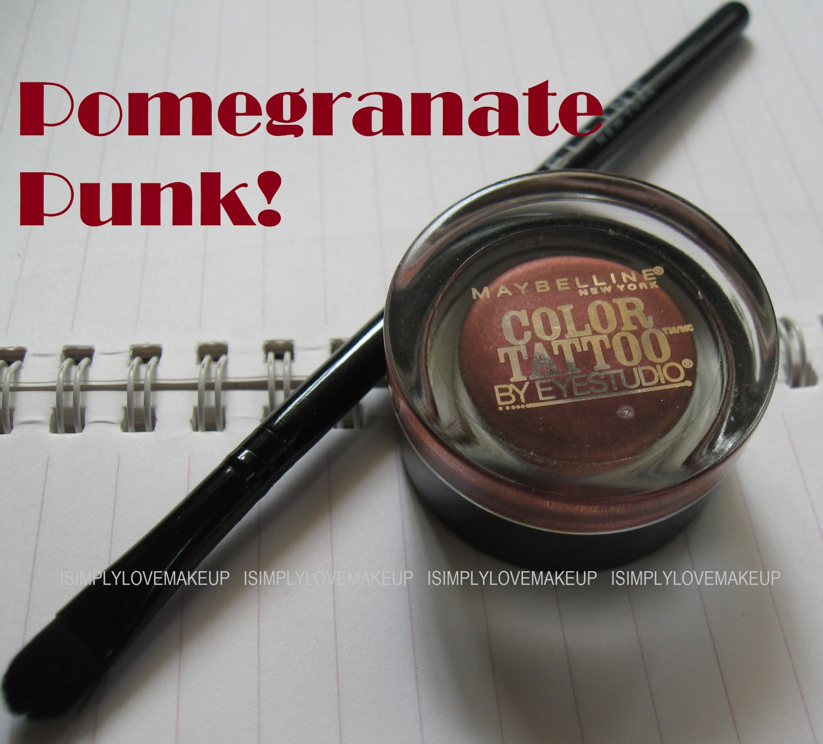 Maybelline Eye Color Tattoo in Pomegranate Punk