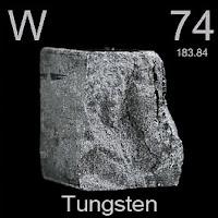 Tungsten Elementi Simgesi W