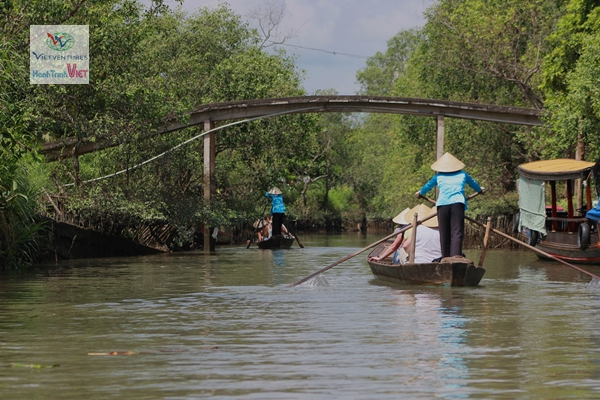 Travel to Cai Be, Mekong delta 06.2015