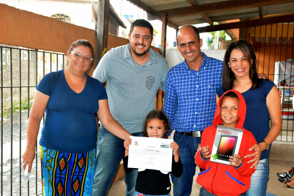 Além da premiação, todos os alunos recebem certificado de participação