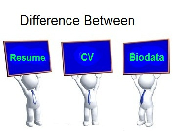 resume biodata cv