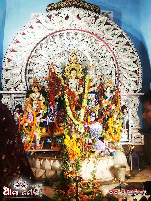 Ama Medha: Sheikh Bazar, Cuttack Durga Medha 2015 - Photo By Ashutosh Tripathy