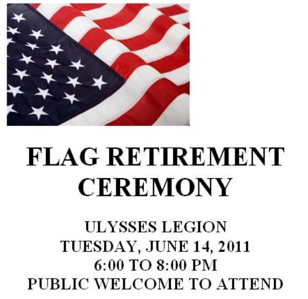 Solomon S Words For The Wise Flag Retirement Ceremony