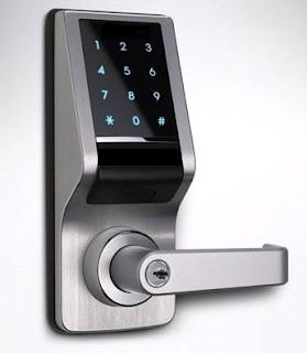 digital door lock instructions