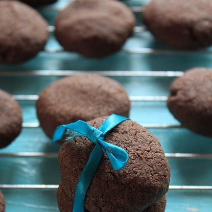 Popękane ciasteczka czekoladowe- ekspresowe!