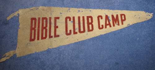 Bible Club Camp banner