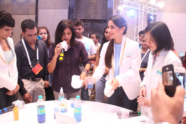 Pampers, Pampers Premium Care Pants, Product Launch, Product Preview, Product Review, Mandira Bedi, Tara Sharma