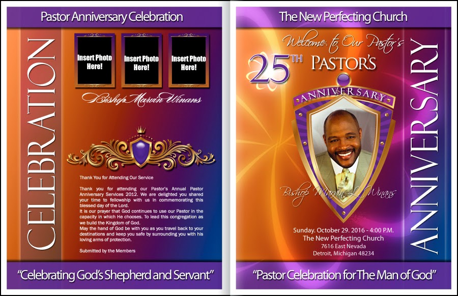 Pastor Anniversary: Pastor Appreciation Day for Pastors