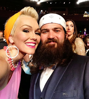 Duck dynasty's jessica and jep robertson partner with fashion, Ducky