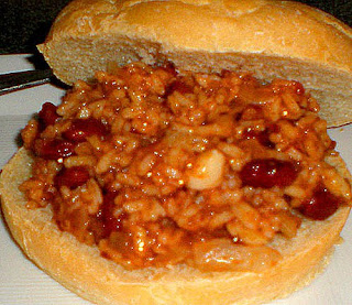 vegan sloppy joe sandwich