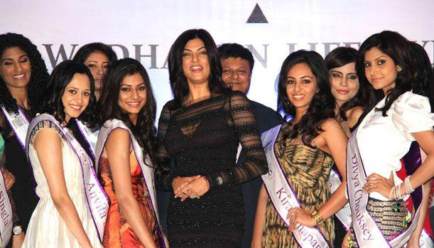 Miss India 2011 contestants I am she