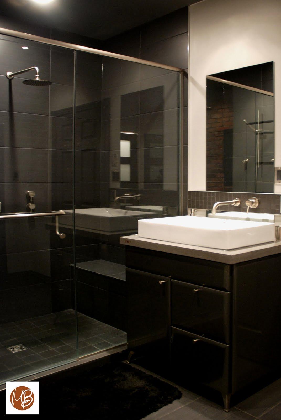 L 39 espace d co salle de bain en milieu urbain for Salle bain ceramique